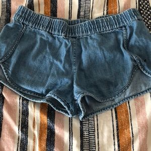 element jean shorts